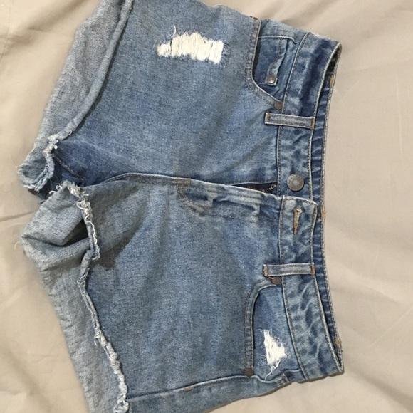 refuge Pants - Refuge high rise shorts